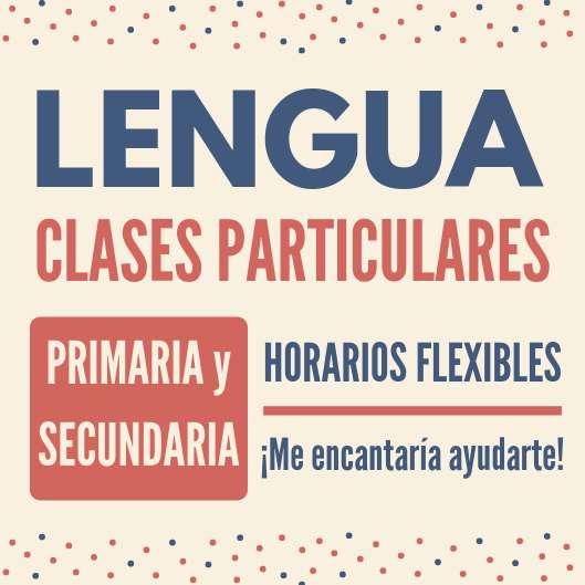 Clases de Lengua - 200 por 1hr30min - Bqras