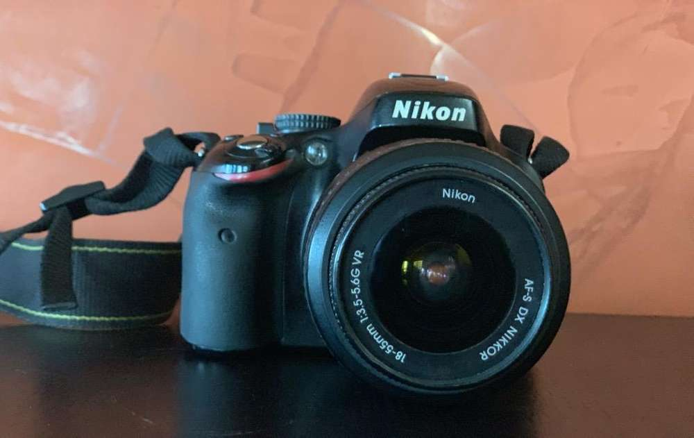 Cámara Nikon D5100