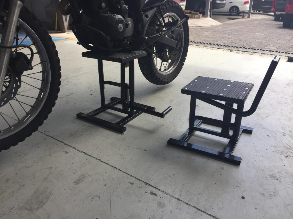 Banco para moto