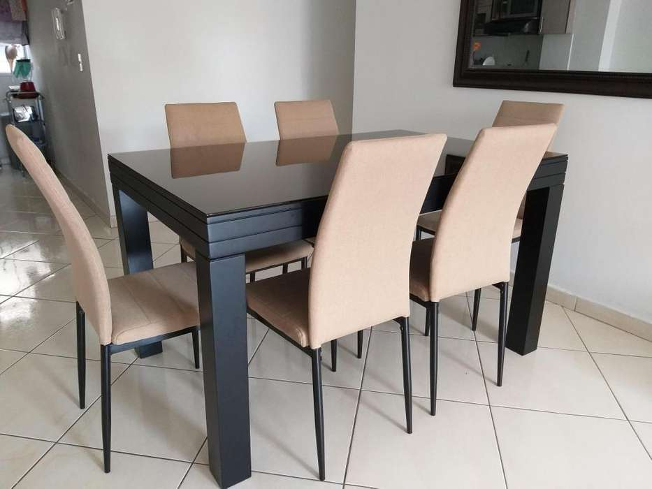 Mesa comedor vidrio: Muebles en venta en Colombia   OLX P-3
