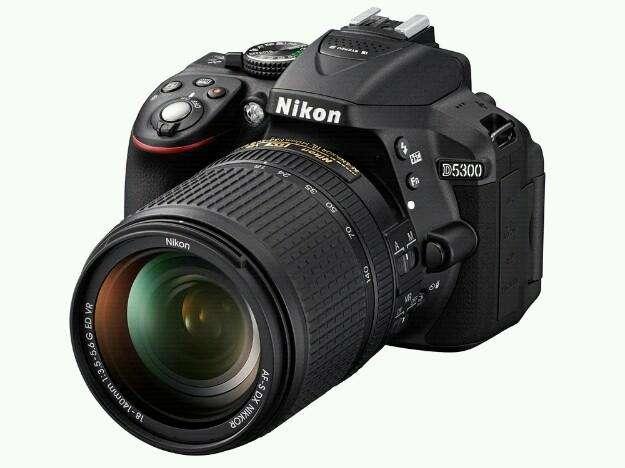 Nikon D5300 Lente 18 55
