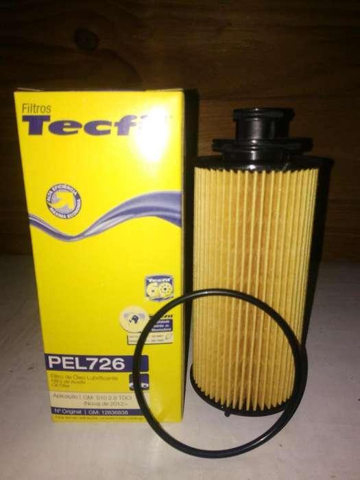 Filtro Aceite Tecfil Pel726 mann Hu6017z P/ Chevrolet S10