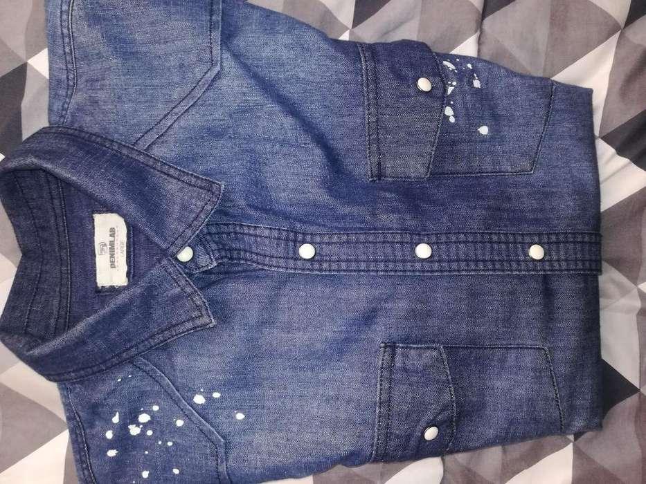 Camisa de Jean Denimlab