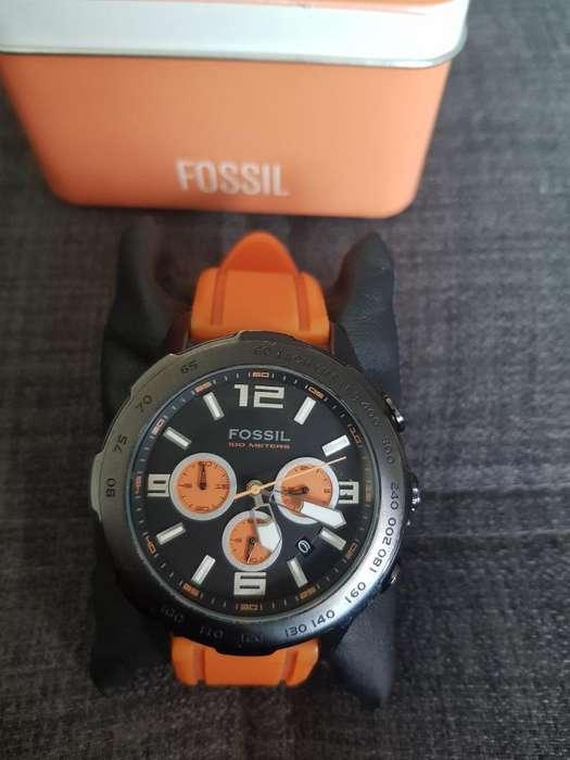 Vendocambio Reloj Fossil Naranja