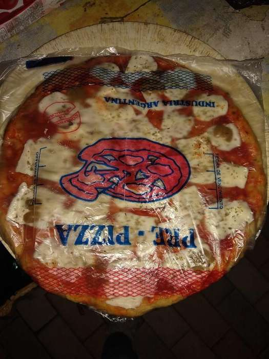 Vendo Pizzas Listas para Hornear Caseras