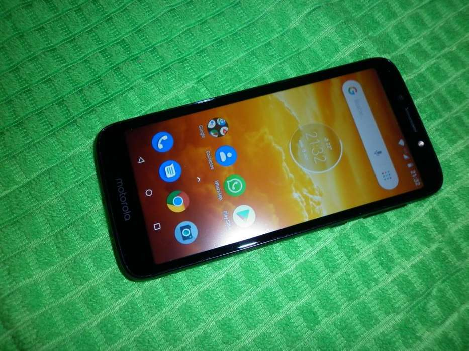 motorola moto E5 play libre impecable