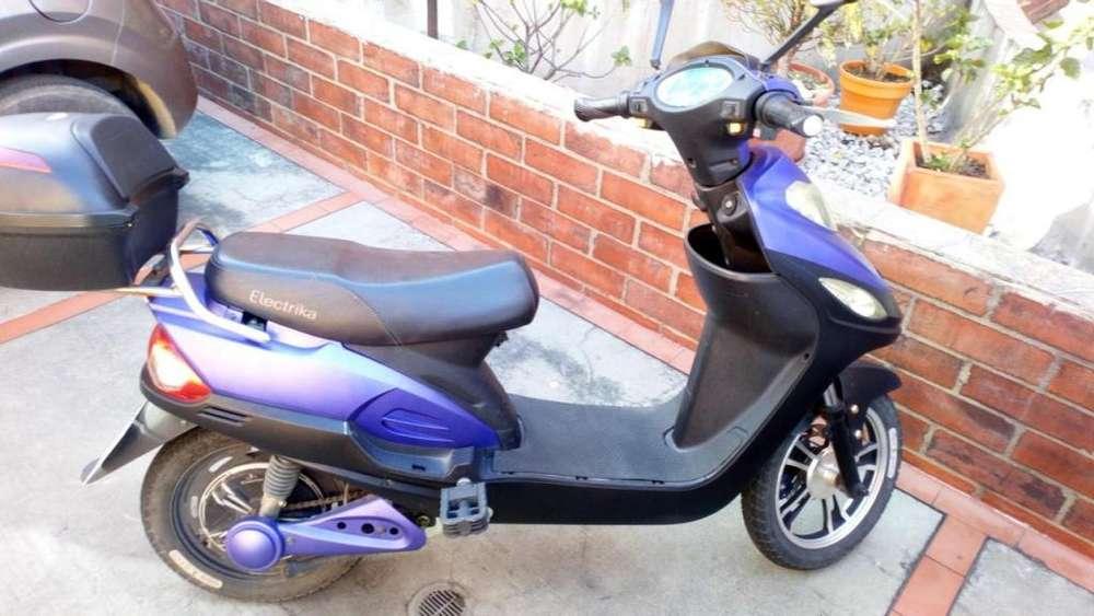 Bicicleta Electrica DX350 Morada