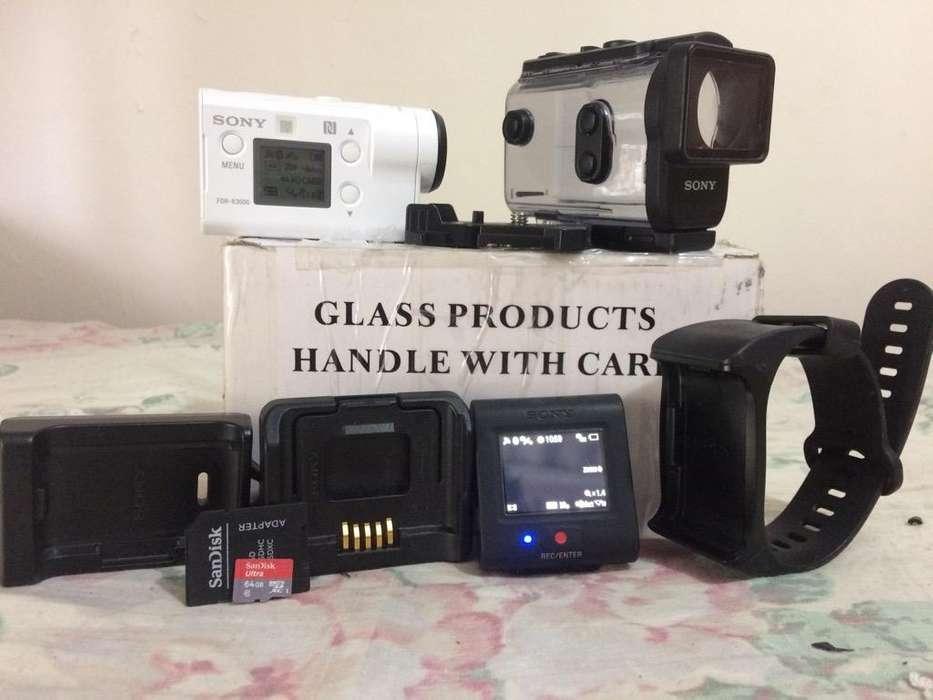 <strong>sony</strong> Action Cam Fdr X3000 (Revisar)
