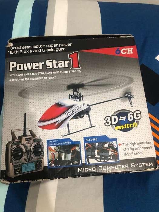 Helicoptero Wltoys V977 Como Nuevo