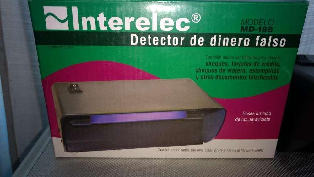 Detector de Dinero Falso