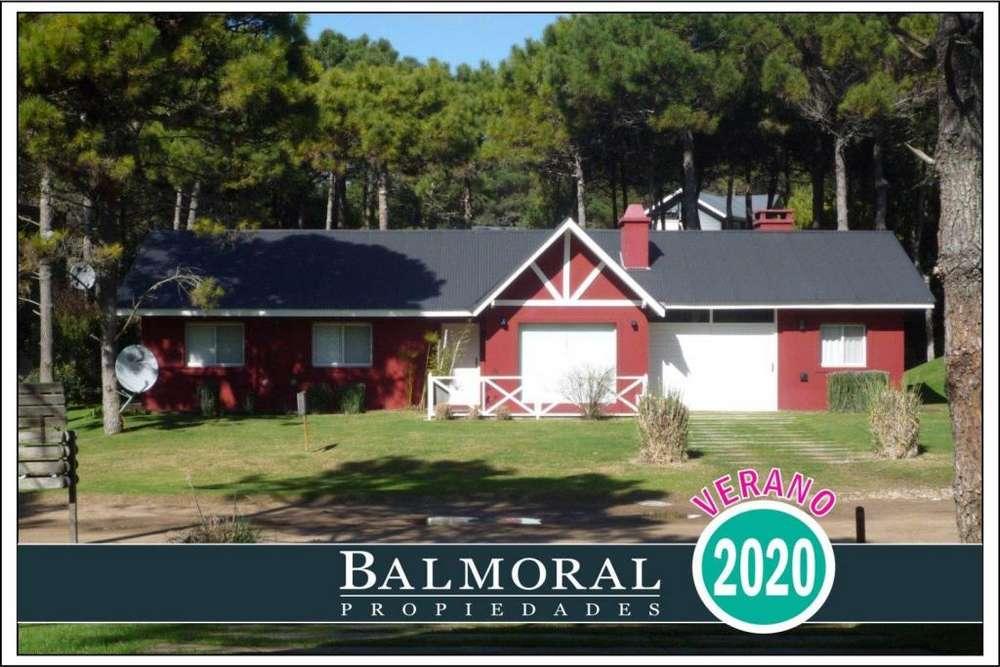 Ref: 8811 - Casa en alquiler, Pinamar Norte , Zona Aromos