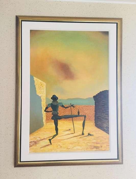 Variedad de cuadros de pintura al oleo y/o espejo (se venden por separado)