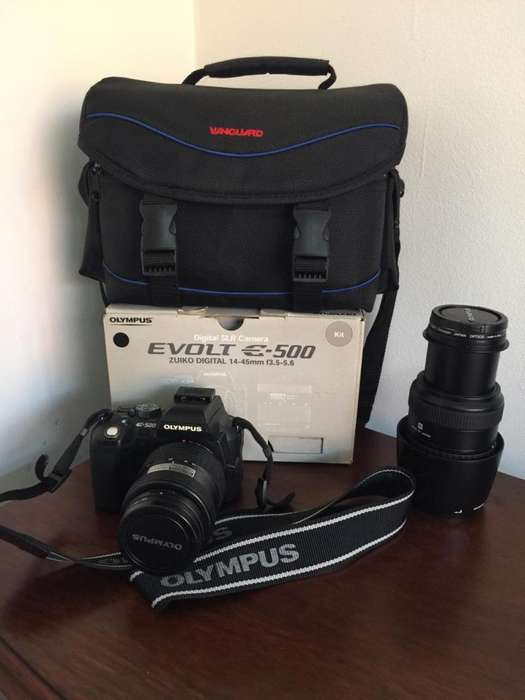 Camara Profesional Reflex SLR Olympus E-500 (Envió Gratis)