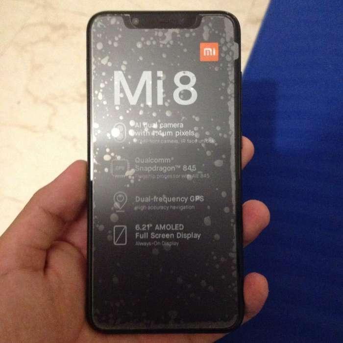 Xiaomi Mi 8 Negro 128 Gb 6gb Ram