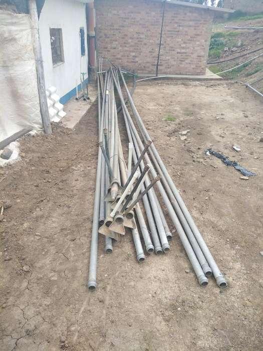 Vendo 20 Tubos de 2 Pulgadas 3102996608