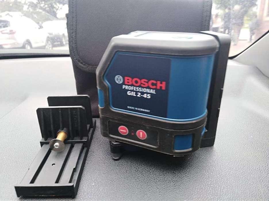 Nivel Laser de Dos Líneas Bosch