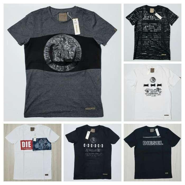 Camisetas Alta Gama Diesel