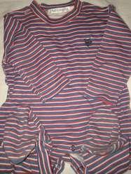 Pijama lote 2  Cheeky Plus Talle S  otro rayado poco uso Hermoso