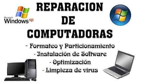 Mantenimiento y Reparacion de Computadoras a domicilio Juliaca