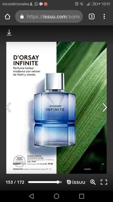 Perfumes Masculinos Dorsay Y Pulso