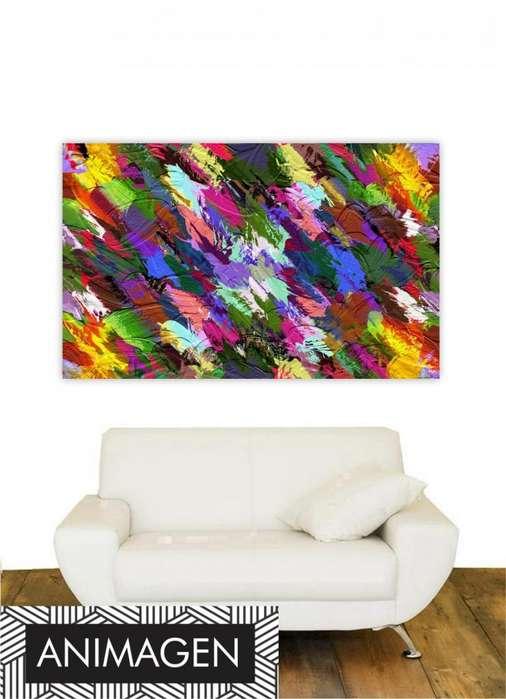 Cuadro abstracto moderno 2192