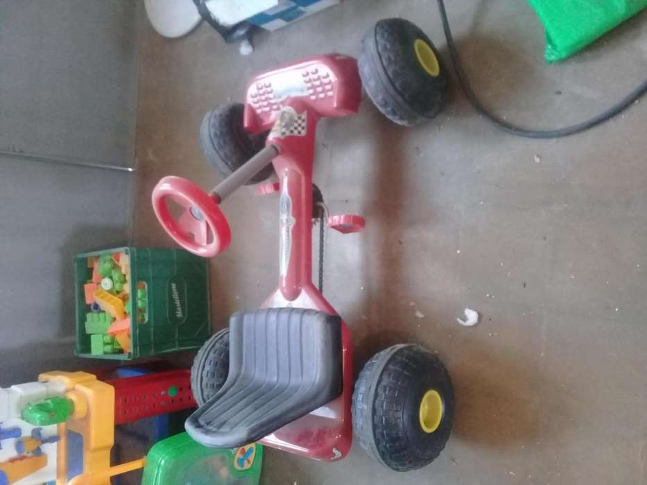 Karting a pedal