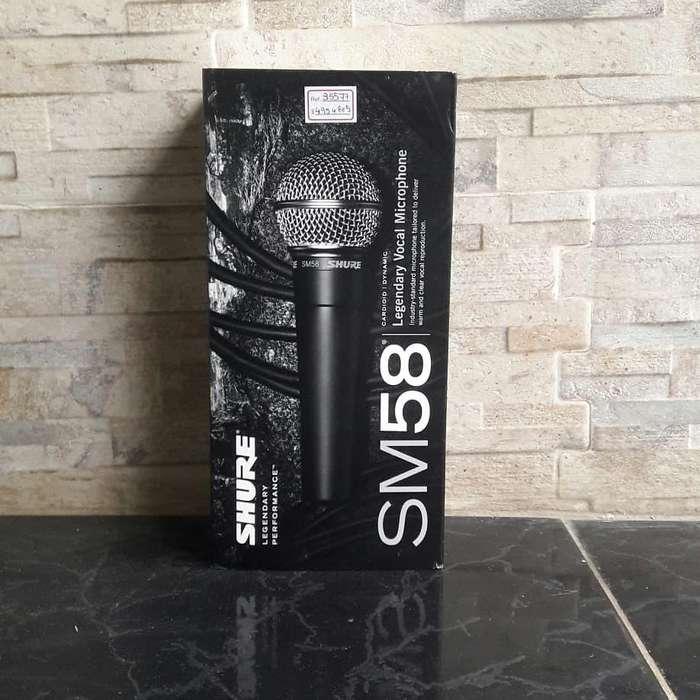 Micrófono vocal profesional Shure SM58