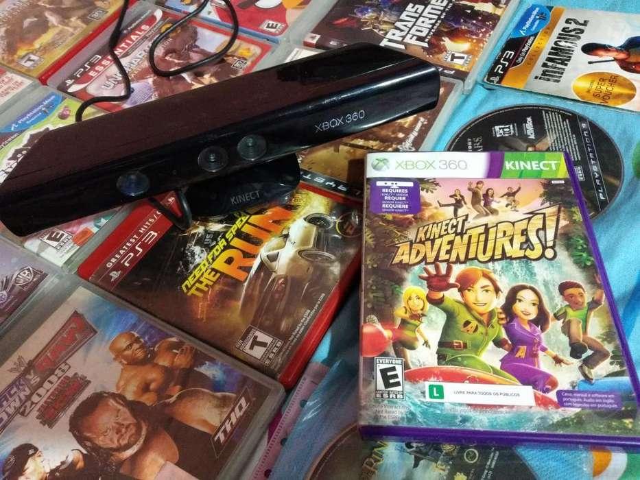 Kinect Xbox 360 Más Juego Original