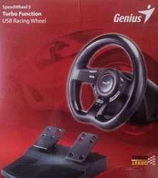 Volante genius speed wheel 5 turbo USB Para pc y ps3 NUEVO