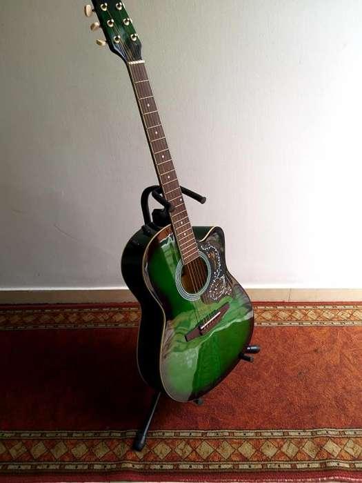 guitarra electroacustica importada
