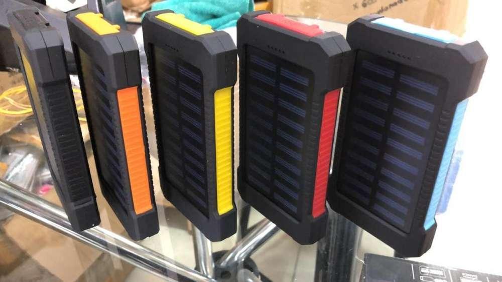 POWER BANK SOLAR 12000 MAH