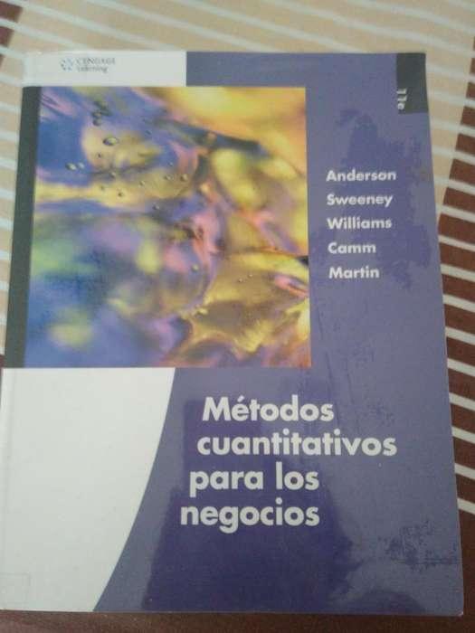 libros metodos cuantitativos para negocio,sistemas de informacion ,microeconomiagerencial