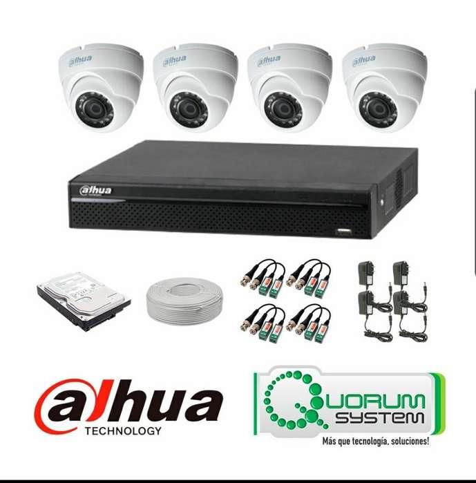 venta e instalación De cámaras de seguridad para tu empresa u hogar