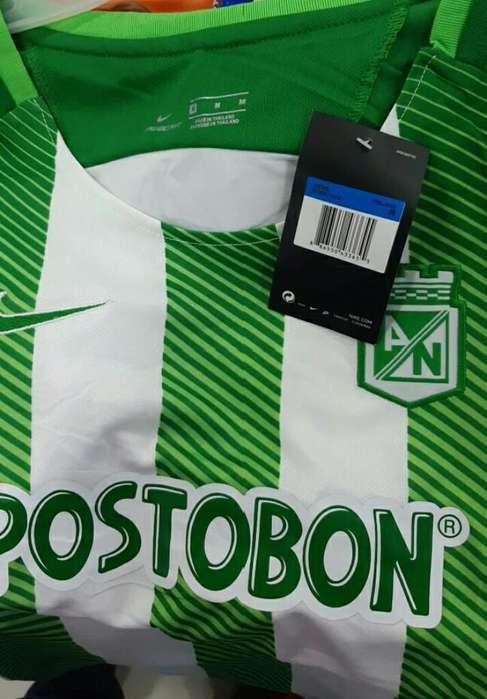 Camiseta Atlético Nacional para Dama