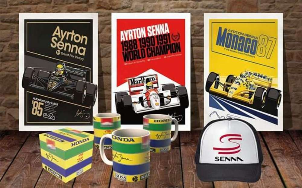 Combo Fierrero Ayrton Senna