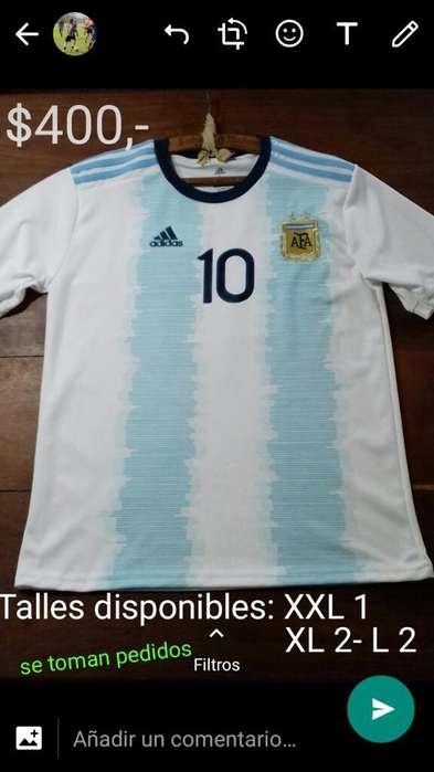 Camiseta Seleccion Argentina Messi