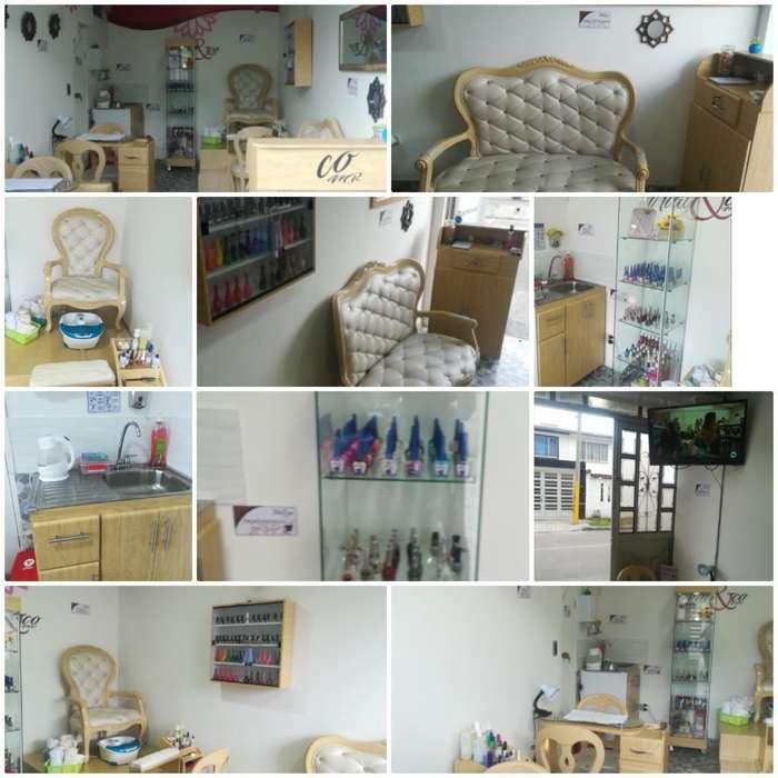 gran oportunidad,venta de spa de uñas ,acreditado,ubicado en el barrio castilla