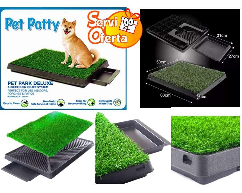 Baño Ecológico Portátil Para Mascotas pet potty