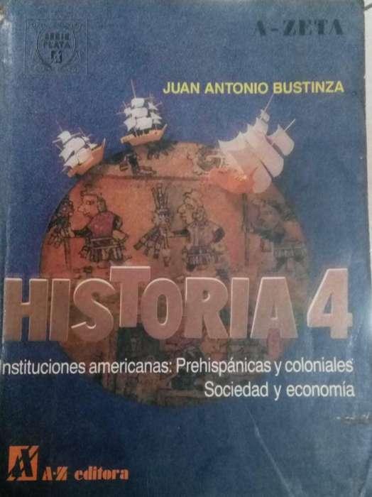 Historia 4 J.a. Bustiza Ed. a Z