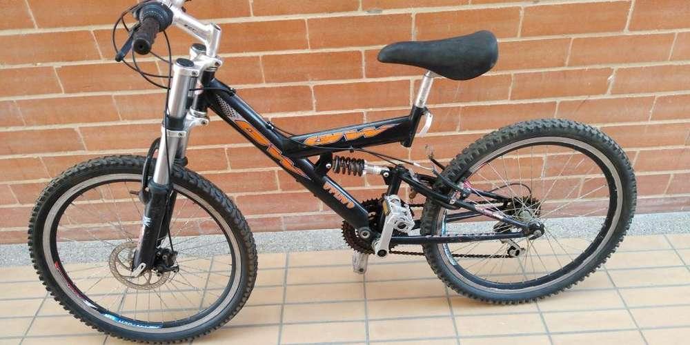Bicicleta tipo todo terreno Rin 24