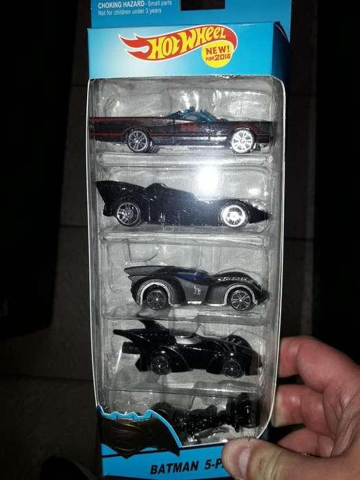 Autos Batman Coleccion en Cajas X 5