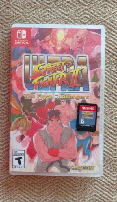 Juego Nintendo Switch Street Fighter