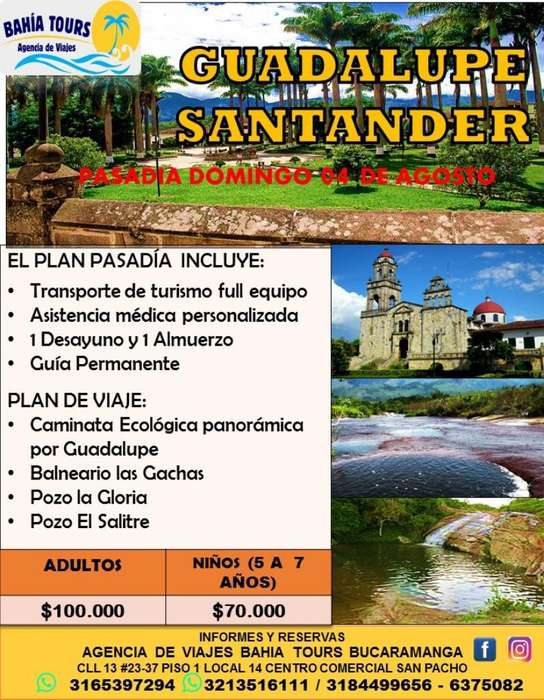 Tour Guadalupe 04 de Agosto