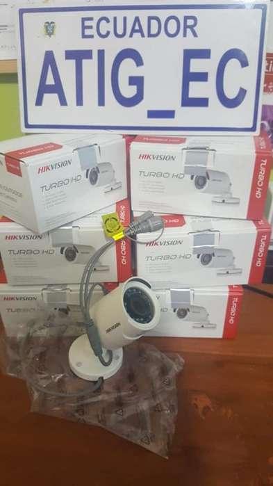 Cámaras de Seguridad Hikvision 720p y 1080p