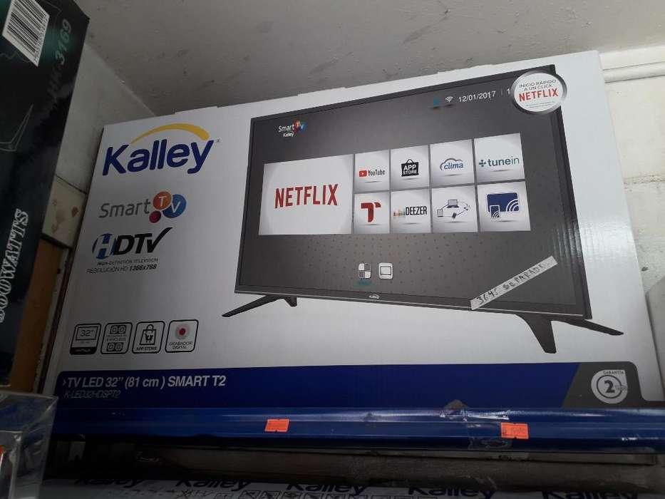 Smart Tv Wifi Tdt Led Kaley Procesador