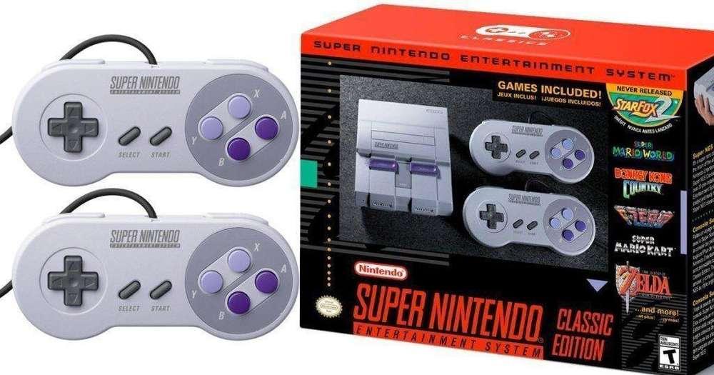 Consola Retro Super Nintendo