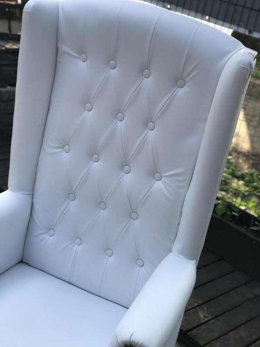 alquiler de sillon de princesa, manteleria, estructura de telas blancas tull y luces..