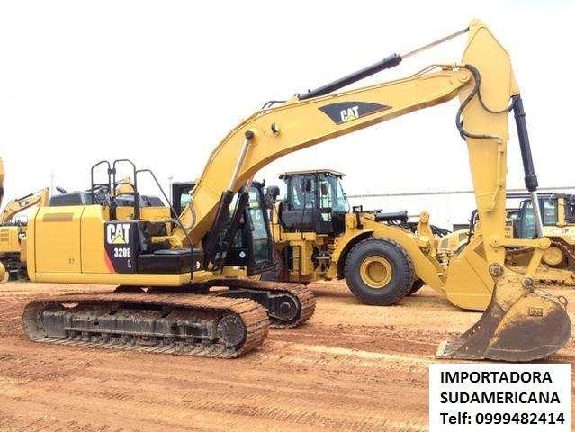 Excavadora Caterpillar 320EL 2013 Importada