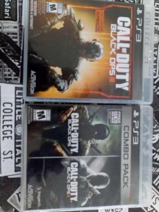 Call Of Duty, Black Ops 1, 2 Y 3