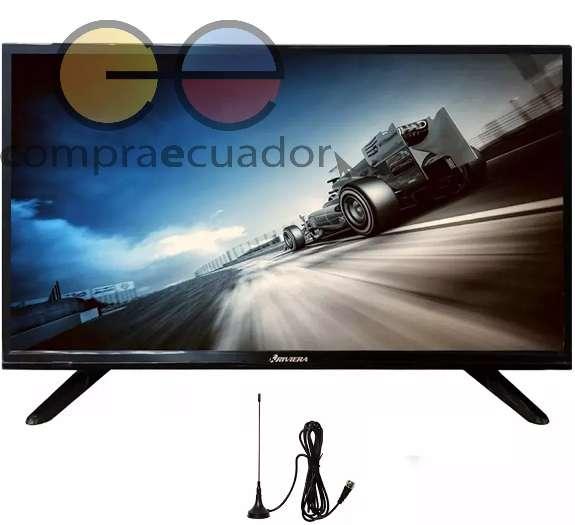 Riviera <strong>televisor</strong> Led Full Hd 24 Hdmi Usb Vga Gratis Antena